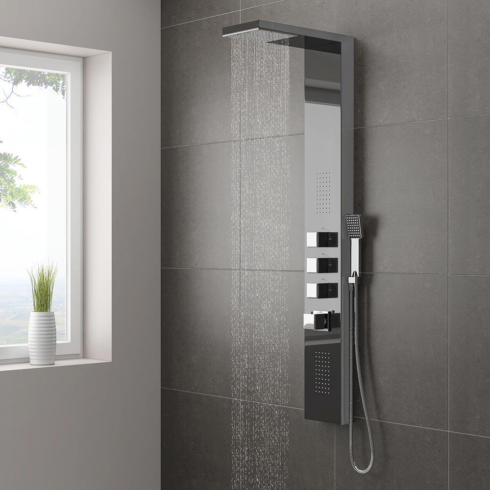 Milan-Shower-Tower-Panel-Dark-Chrome-l